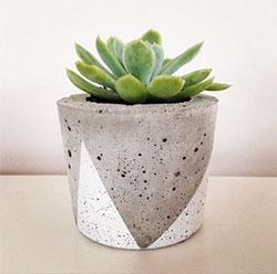 Горшки из бетона