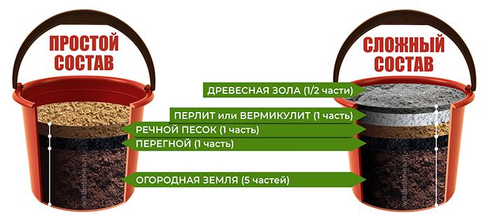 Состав и пропорции для приготовления рассадного грунта своими руками
