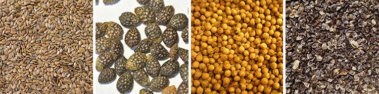 Семена различных домашних растений